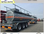 High Quality Sulfuric Acid Chemical Liquid Tanker Trailer/Oil Tanker Use for Diesel Gasoline Petrole