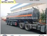3 Axle Bitumen Asphalt Heating Storage Transport Tank Truck Semi Tanker Trailer