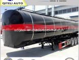 45m3 3axles Liquid Heating Truck Semi Bitumen Tank Trailer