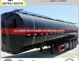 3 Axle Utility 35m3 40m3 Heated Liquid Bitumen Asphalt Pitch Tanker Tank Semi Trailer