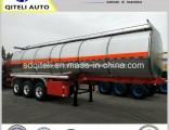 3 Axle 35-60cbm Heating Asphalt Bitumen Truck Tank Semi Trailer