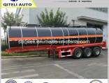 Tri Axle 36cbm Carbon Steel Tank Liquid Asphalt Bitumen Tanker Semi Trailer