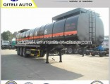 Tri-Axle 45000liters Asphalt Bitumen Tank Semi Trailer with Heating System