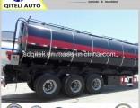 36 M3 42cbm 45 Cbm 3axles Bitumen Oil Stainless Steel Fuel Transfer Tank Tanker Truck Semi Trailer f