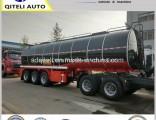 Tri Axle Liquid Transport Truck Trailer/ Tanker Semi Trailer/ Bitumen Tank Trailer for Sale