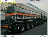 30m3, 40cbm, 50cbm Asphalt / Bitumen Tanker Semi Trailer for Sale