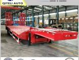 3axle Extendable Low Loader Low Bed Semi Truck Trailer