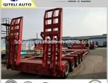 3/4/5 Axles Large Capacity 60-100ton Low Bed Semi Trailer
