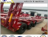 40t-60t Low Body Semi Trailer Truck Trailer Used to Transport Heavy Machinery and Cargo