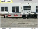 3 Axle 60ton Heavy Duty Gooseneck Lowbed/ Lowboy Semi Trailer