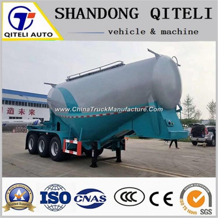 3 Axle Cement Carrier Truck Powder Tanker Semi Trailer Cement Tank Semi Truck