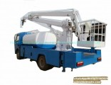 Truck Mounted Aerial Platform 16m Manlift Mounted Water Tank 3000L