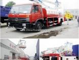 Dongfeng Aerial Platform Working Truck with Water Sprinkler Water Tank Volume 4000 L