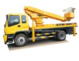 Isuzu Platform Truck 20m-22m 23mftr /Fvr (Telescopic Boom Aerial bucket truck, high altitude operati