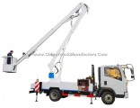 Aerial Work Platform HOWO Truck Mounted (14m-18m Bucket Man Lift)