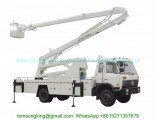 Dongfeng Aerial Platform Truck 22m-24m Fully Hydraulically Operate 3 Boom Option 4X2.4X4 LHD. Rhd