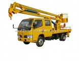 Dongfeng 16m Telescopic Aerial Platform Truck Fully Hydraulically Operate 3 Boom Option 4X2.4X4 LHD.