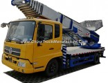 Truck Mounted Telescopic 38 Meter Platform Ladder (Ladder Truck For House Moving Goods Lift and Down