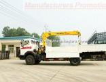 Beiben 4X2 Truck Mounted 5t Crane