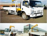 Isuzu Mounted Crane Truck with 2t, 3.2t, 4t, 5t, 6.3t Load Capacity Sale