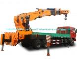 Dongfeng Hydraulic Truck Mounted Crane 80ton Sq1600zb6 Max Lifting Moment 1600 Kn. M