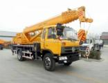 Dongfeng Truck Mounted Heavy Duty Crane Telescopic Boom