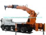 Hino 700 Truck Mounted Crane 12 Wheels 8X4 Sq1800zb6 Knuckle Crane 90ton