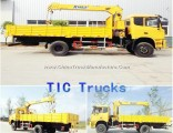 Euro 4 Dongfeng All Wheel Drive 4X4 Truck Mounted Crane 4X4 off-Road with 190HP Cummins Engine