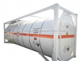 T6, T10, T14, Anhydrous Hydrogen Fluoride ISO Tank Container 20FT/30FT for Road Transport Un1052 Ahf
