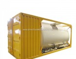 Bulk Cement ISO Tank Container 20FT Customize with Air Pump Transportation of Bulk Cement/Flour/Coal