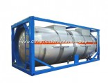 Phosphorous Acid Isotank Swap Stainless Steel Tank Body for Un1381 H3po4 Road Transport in 20feet Co