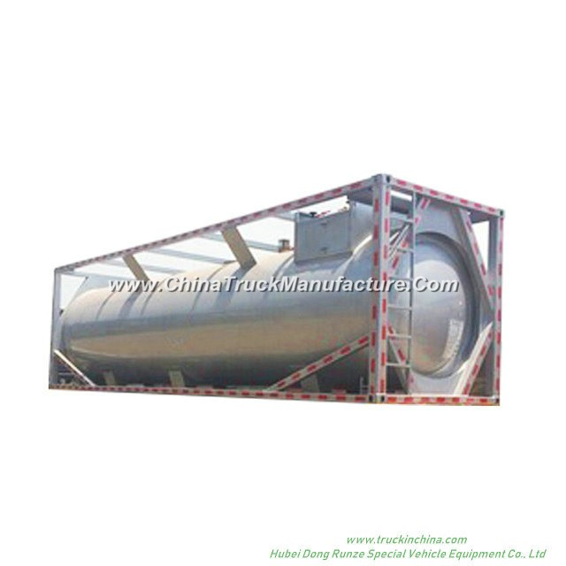 CH3cl ISO Tank Container for Liquid Chloromethane 30FT Container Trailer Road Transport (methyl chlo