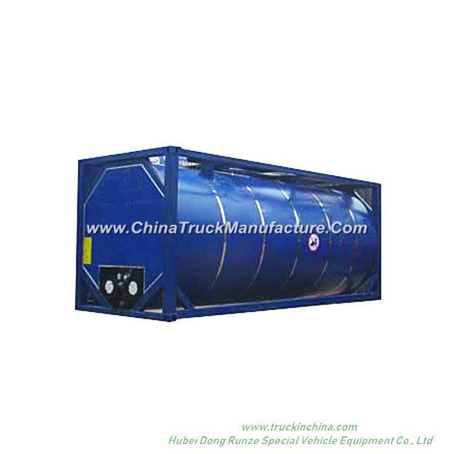 20FT Bitumen Tank Container Customizing Transport Hot Asphalt 20000-24000 Litre (Bitutainer)