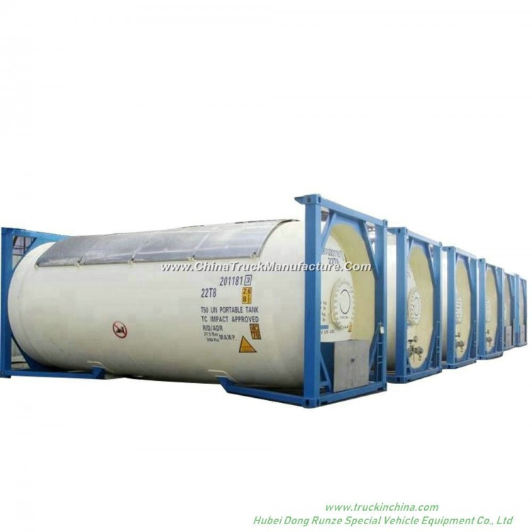 Un1005 Liquid Ammonia Isotank (Ammonia, anhydrous) Portalbe Tank Container