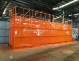 HCl Acid Tanks-Skid Mounted Lined PE Closed Top 500 Bbl Frac Tank Type of Tanks for Onsite Acid Supp