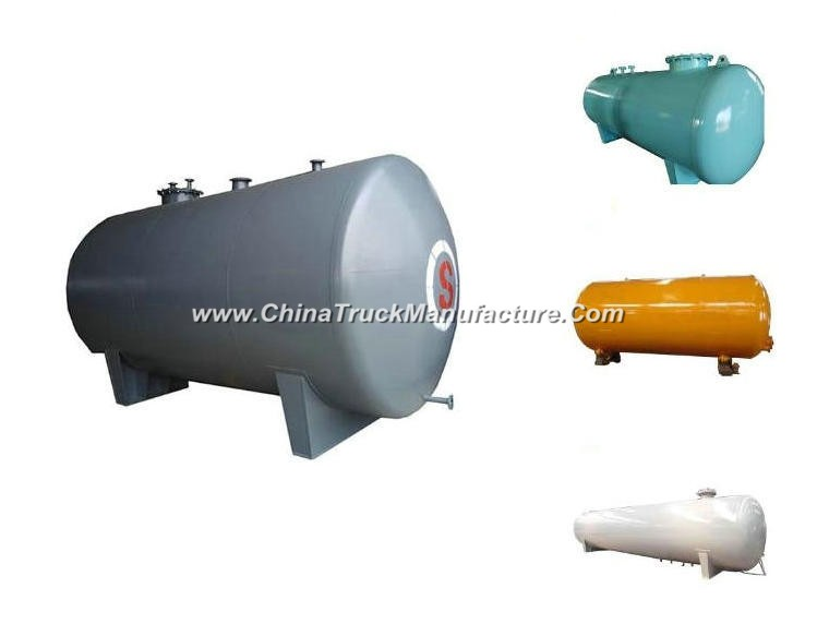 Horizontal Fuel Storage Tank for Petroleum Oil, Gasoline, Petrol, Diesel Steel Q235 or Q345. Q245. R