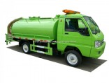 Forland 3000liters Septic Tank Vacuum Trucks (4X2 RHD Vacuum Tanker for Wast Water Sewage)