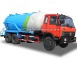 Dongfeng Sewage Tanker Truck 18000liters VAC Tank for Sewer Sucking Septic LHD. Rhd 6X4.6X6