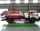 Beiben 1627 Vacuum Tanker Combined Sewer Jetting Tank a 6000ltrs of Solid Liquid Human Waste Tank Pa