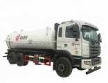 JAC Cesspit Emptier Vacuum Tanker Truck Tank Capacity 15000L to 18000liters Euro 5.6 Standard