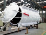 Emptying Slurry Tanks Body Upper Kit SKD for Customer Built Suction Cesspool Sludge Sewer Was