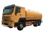 Sinotruck HOWO 6X4 Water Tank Bowser Truck Capacity 15 Tons 18 Tons 20 Tons Water Sprinkler Truck (3