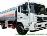 King Run Mobile Fuel Bowser Trucks LHD / Rhd 4X4 All Wheel Drive