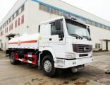 HOWO Diesel Fuel Bowser Ttruck 10, 000 Liter 6 Wheels Dricve Good for Rough Road Transport Gasoline,