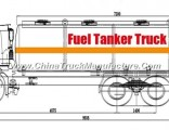 HOWO 6X4 Fuel Tank Truck with Refuelling System with Computer Dispenser Refueling Bowser for Vehicle