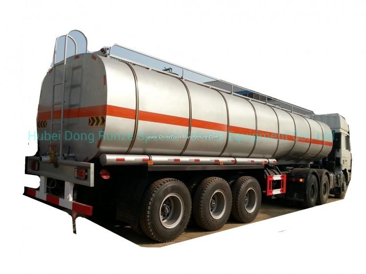 Tri Axles Trailer Tanker with Insulation Layer for Heat Bitumen, Liquid Asphalt, Coal Tar Oil, Crude