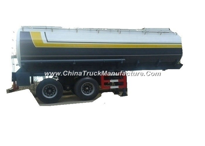 Hydrofluoric Acid Tanker with Dual Bogie Axle (single point suspension) Steel Lined LDPE 22 -27cbm T