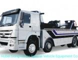 Sino Truck HOWO 360 Degree Rotation 50 Tons Heavy Duty Wrecker