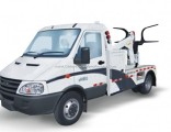 Iveco. Roll Back Flatbed Wrecker or Wheel Lift Wrecker with Broken Car Carrier for Towing Truck 5ton