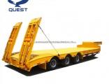 3 Axle 50t-80t Heavy Truck Trailer Lowboy Semi Truck Trailer